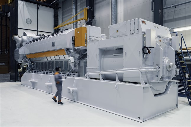 Wärtsiläs 31SG gasmotor har slagit igenom också på kraftverksmarknaden.