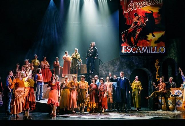 """I fjol spelades operan """"Carmen"""" i Vasa. I år blev det ingen operaföreställning, men i januari är det dags igen."""