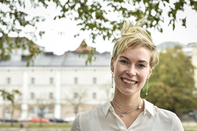 Saara Kujala jobbar med affärsutveckling inom Wärtsilä