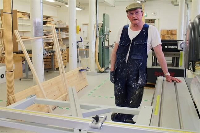Ben Sandvik har jobbat på Arbis i 35 år, de senaste 15 åren som slöjdhandledare.