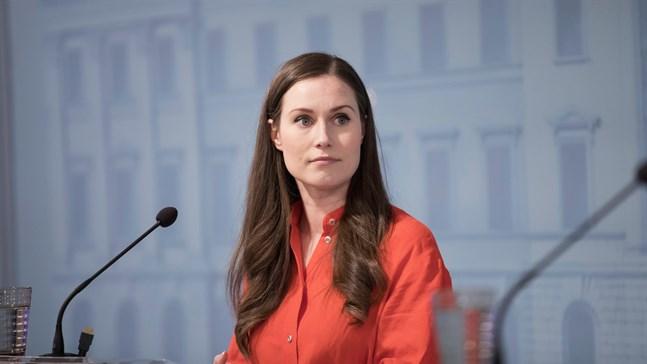 Sanna Marin (SDP) har haft en synlig roll under coronakrisen.