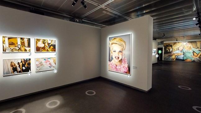Fotografiska i Stockholm är ett av de första museerna i världen att omvandla hela huset till en kostnadsfri digital 3D-upplevelse. Pressbild.Foto: Fotografiska