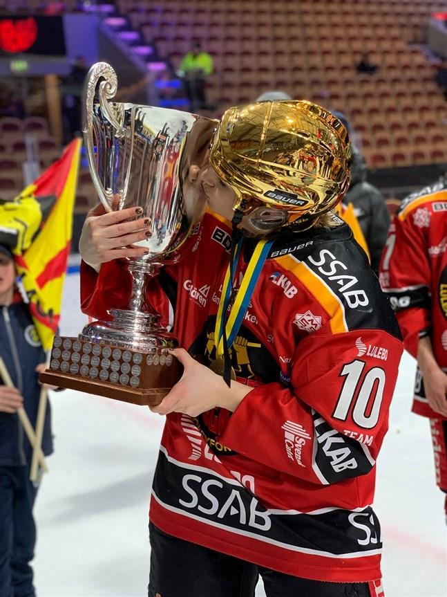 Christa Alanko har fått lyfta segerbucklan och kunnat titulera sig svensk mästare fem gånger.