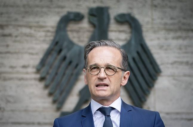 Tysklands utrikesminister Heiko Maas. Arkivbild.
