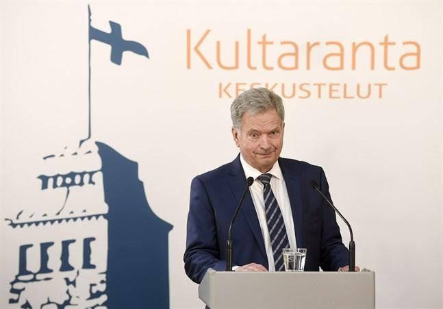 President Sauli Niinistö tror inte att coronakrisen påverkar relationerna mellan de nordiska länderna.