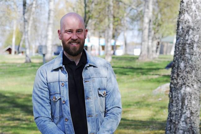 Parkdirektör Tuomas Luukkonen märker av ett ökat intresse för campingen i år.