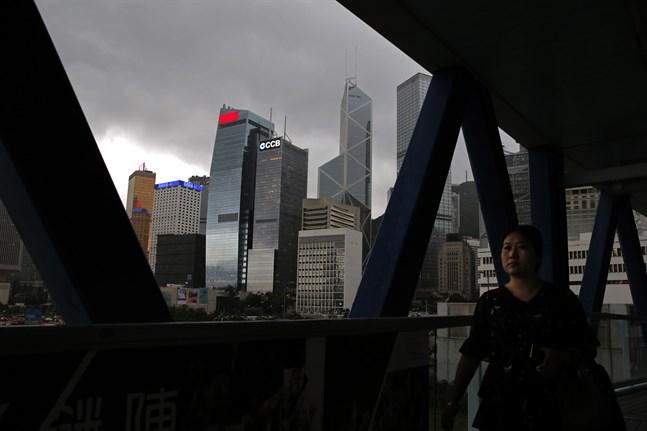 Peking lägger fram ett nytt lagförslag om säkerhetslagstiftning i Hongkong. Arkivbild.