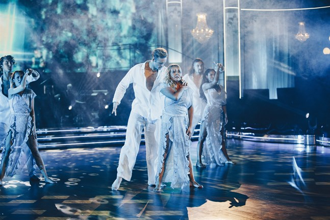 """Sussie Eriksson har dansat sig igenom """"Let's dance"""" och är nu klar för final."""