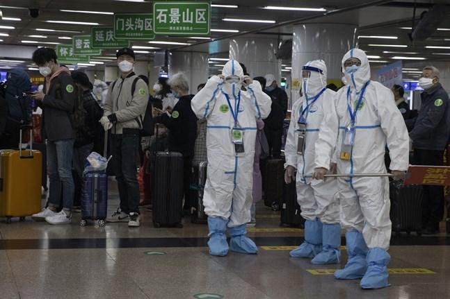 Forskare i Kina har genomfört en första provfas med ett nytt vaccin på människor i Wuhan. Arkivbild.