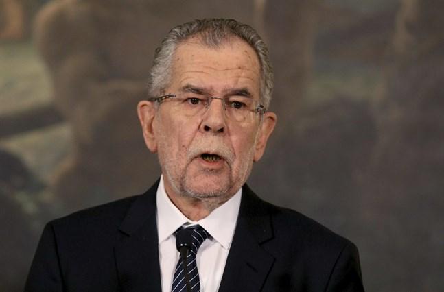 Österrikes president Alexander van der Bellen. Arkivbild.