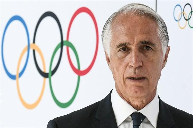 Giovanni Malago är ordförande för den italienska olympiska kommittén.