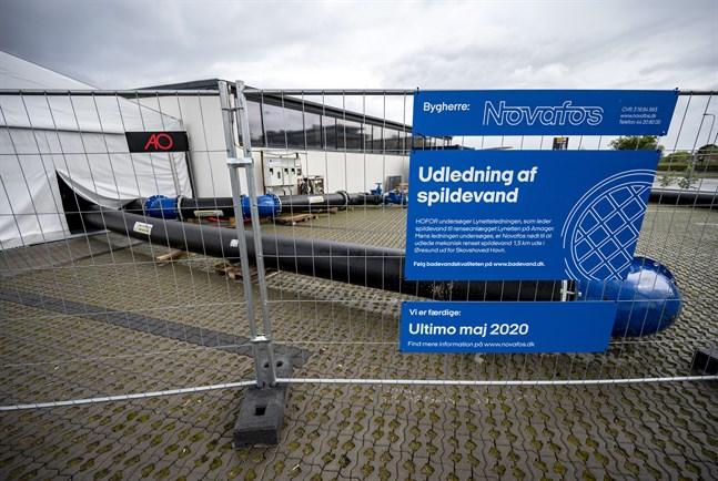 I söndags stoppades beslutet att under fem dagar släppa ut 290000 kubikmeter avloppsvatten i Öresund från bland annat Köpenhamns kommun. Pumpstationen i Skovshoved norr om Köpenhamn ligger i höjd med Barsebäck på den svenska sidan Öresund.
