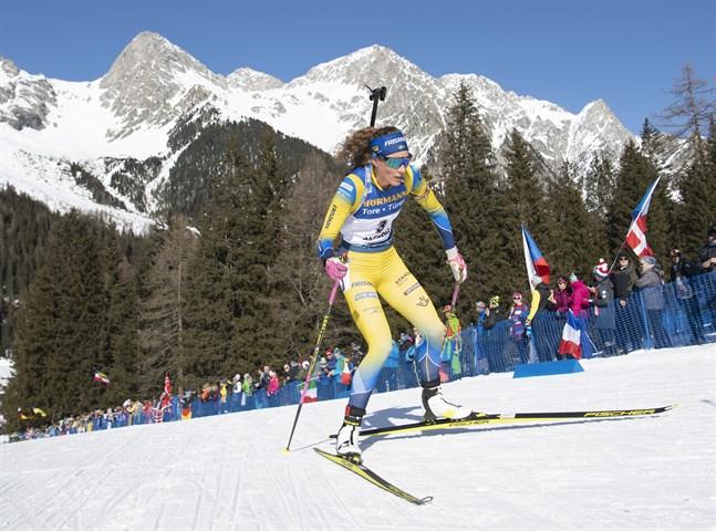 Sveriges Hanna Öberg och de andra skidskyttarna har snart mindre fluor under skidorna.