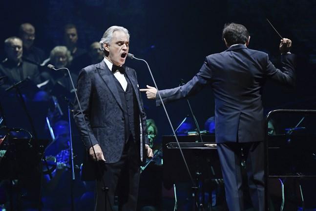 Den italienske sångaren Andrea Bocelli är frisk från covid-19. Arkivbild.