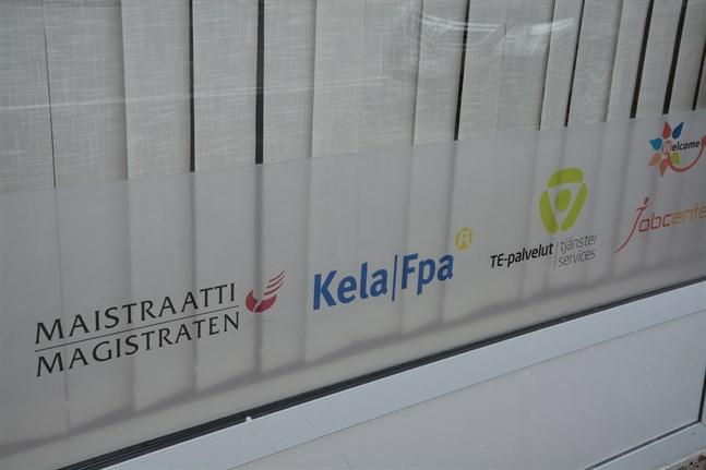 Vid servicepunkten i Kristinestad finns redan många olika tjänster.