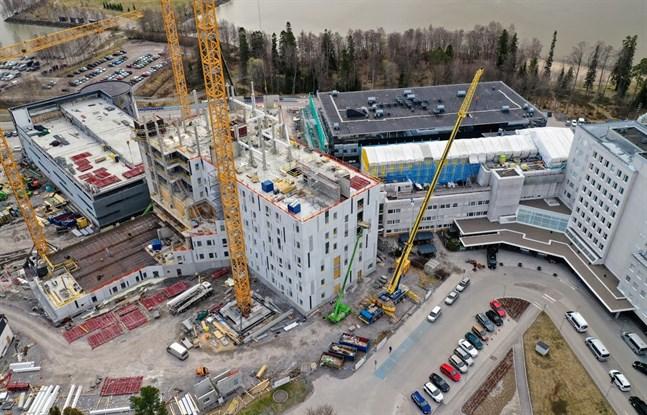 Hårda besöksbegränsningar fortsätter på Vasa centralsjukhus.