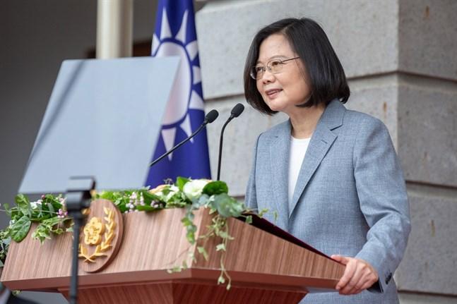 Taiwans president Tsai Ing-Wen. Arkivbild.