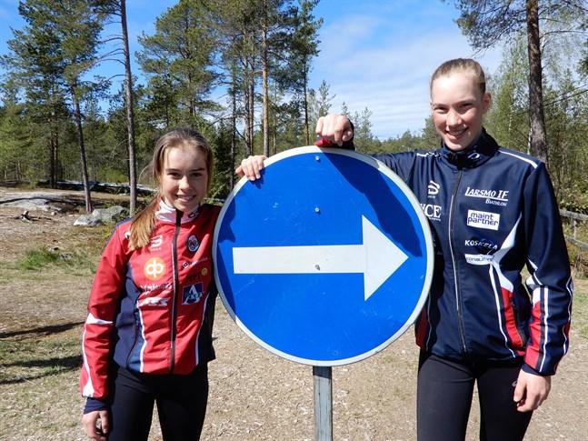 Det bär av västerut för Rebecca Sandnäs och Teodora Westerlund i höst. Efter avslutad skolgång vid Oxhamns i Jakobstad styr de båda skidskyttarna kosan mot Sollefteå och skidgymnasiet där.