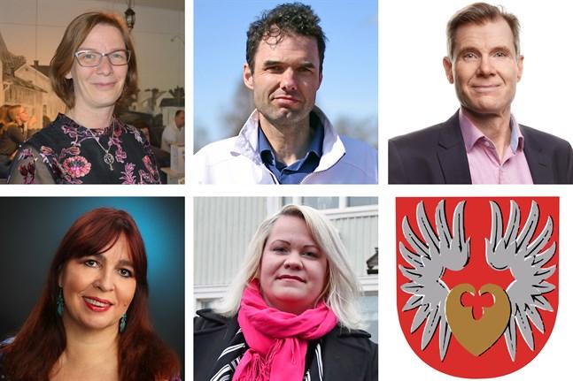 Mikaela Björklund, Jim Eriksson, Esa Högnäsbacka, Marja-Riitta Vest eller Marjo Österdahl – en av dem är Närpes nya stadsdirektör.