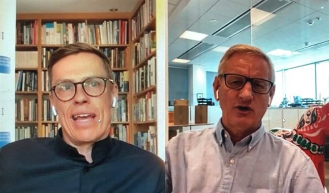 De tidigare statsministrarna Carl Bildt och Alexander Stubb varnar för konsekvenserna av ordkriget mellan Kina och USA under den rådande coronakrisen.