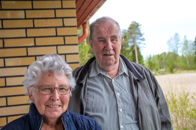 Per och Astrid Envik blev ett par under sina månader på Östanlid i slutet av 1950-talet.