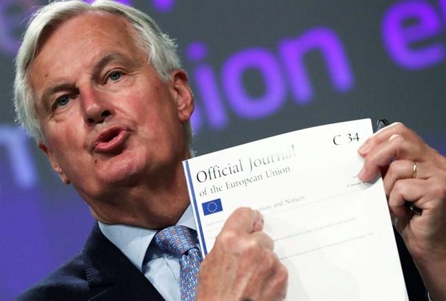 Frankrikes Michel Barnier är EU:s chefsförhandlare i brexitfrågor.