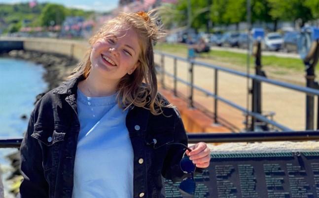 Matilda Thylin tvingas lämna Boston och åka hem till Karleby tidigare än planerat.