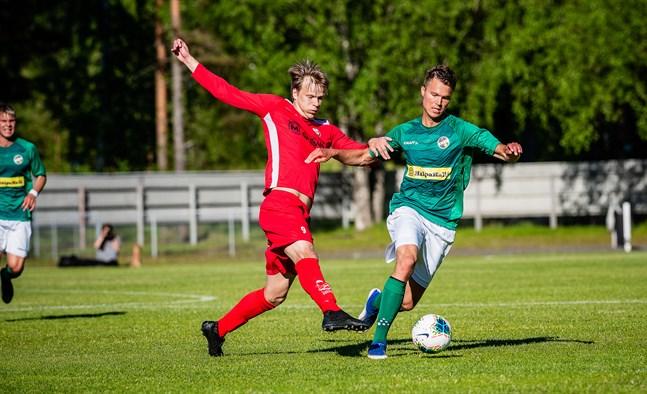 KPV-produkten Severi Kähkönen är en av Jaros nyckelspelare i derbyt. På söndag möts han och Harri Heiermann på nytt.