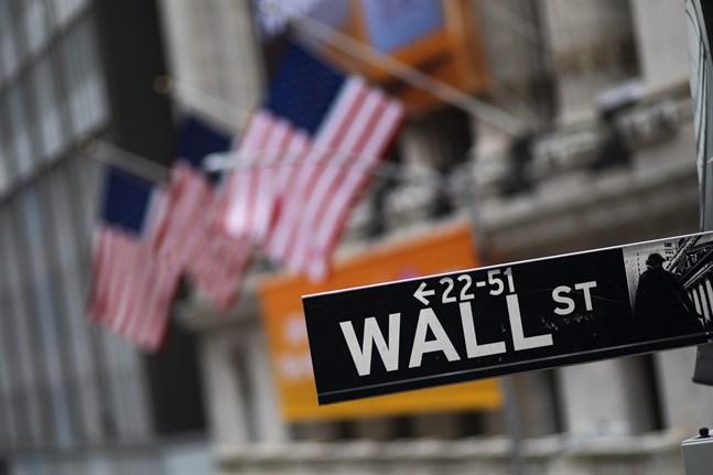 Nedåt på Wall Street. Arkivbild.