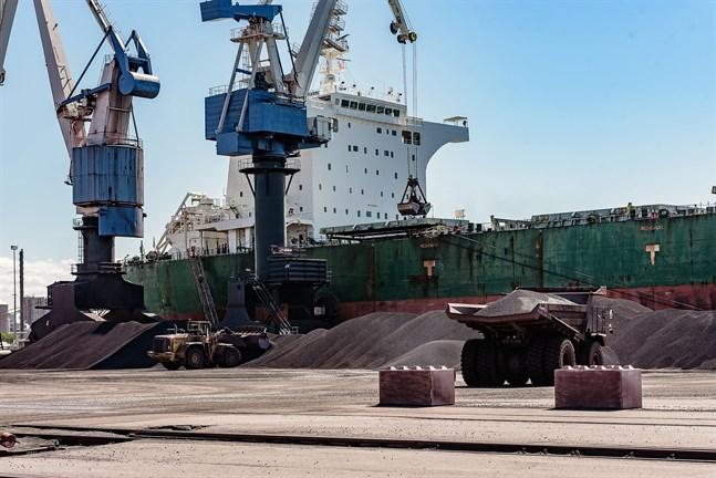 Högre metallpriser och pris på råvaror förklarar största delen av tillväxten av exportvärdet i Mellersta Österbotten.