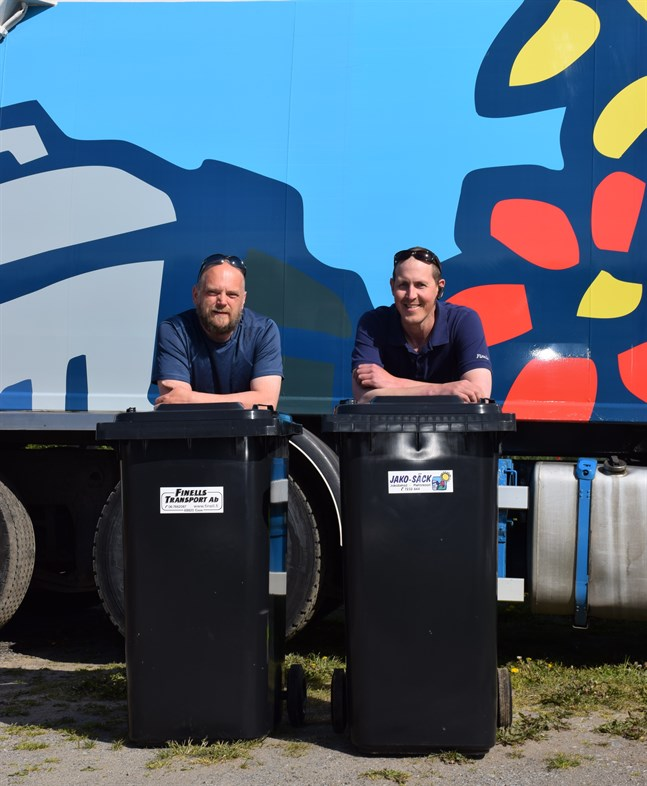 Johan Forsman och Robert Finell vill samarbeta för att möta kundernas efterfrågan.