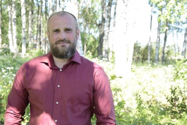 Martin Enroth är Svenska kulturfondens ombudsman i Österbotten.
