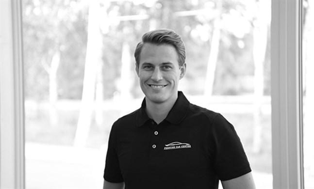 Rasmus Lönnqvist är årets unga företagare.