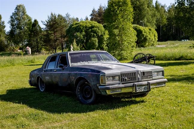 William Smeds har restaurerat en Oldsmobile Delta 88 årsmodell 1981.