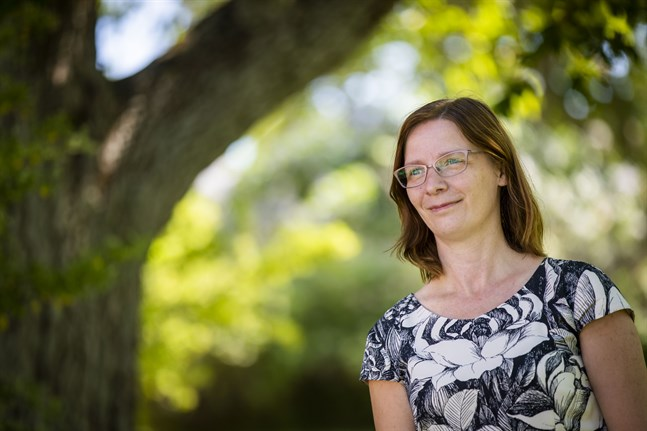 Mikaela Björklund beskriver sig som en god lyssnare som vill lära av andra.