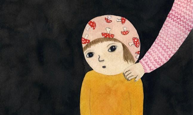"""Illustrationen av Malin Ahlsved finns med i bilderboken """"Tillsammans ska det vara vi två""""."""