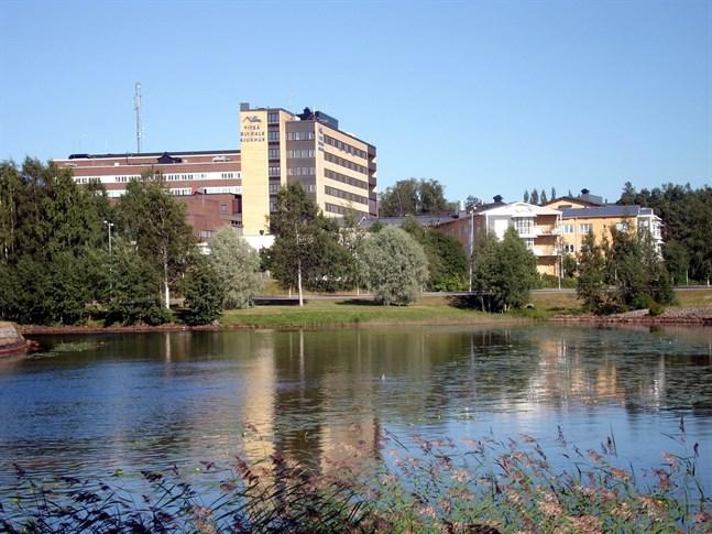 På Piteå älvdals sjukhus vårdas de svårast sjuka covidpatienterna i Norrbotten.