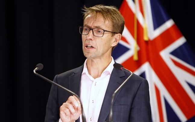 Ashley Bloomfield, generaldirektör vid Nya Zeelands hälsoskyddsmyndighet. Arkivbild.