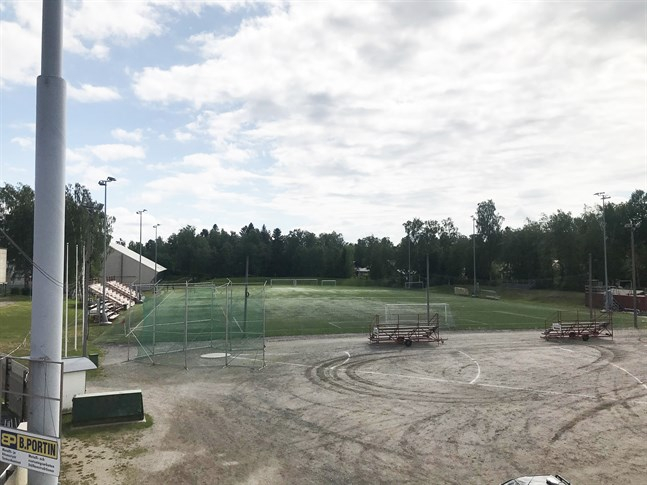 Här är det tänkt att Jakobstads nya fotbollsstadion ska stå klar 2022.