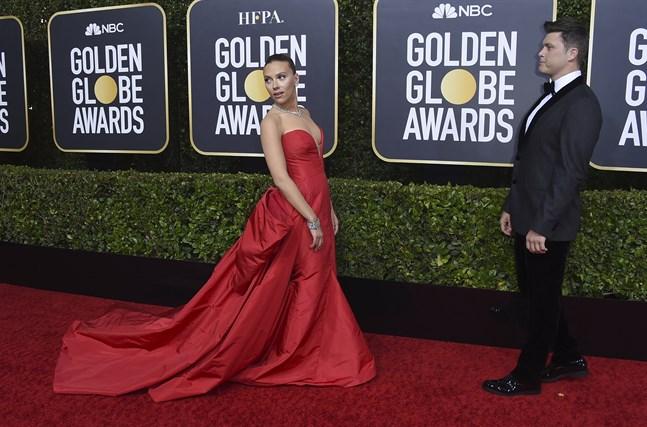 Scarlett Johansson vid årets Golden Globe-gala. Arkivbild.