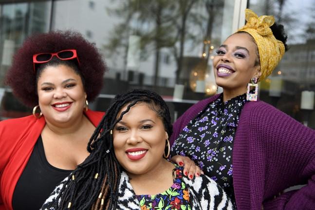 The Mamas med Loulou Lamotte, Ashley Haynes och Dinah Yonas Manna är redo att inta Allsångsscenen på Skansen.
