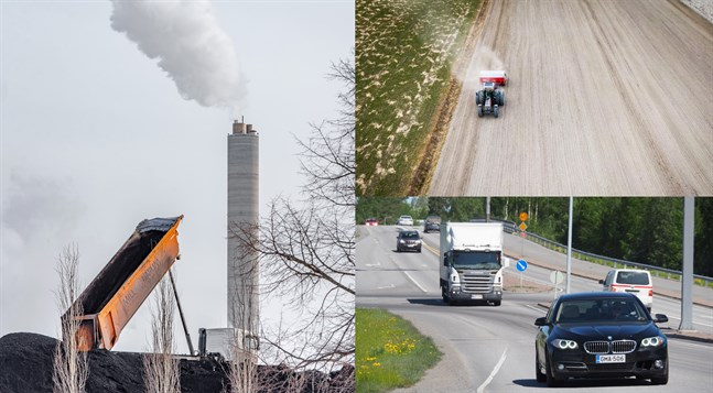 Elproduktion, uppvärmningskostnader, lantbruk och vägtrafik orsakar störst utsläpp i SYKES beräkningar över kommunernas klimatpåverkan.