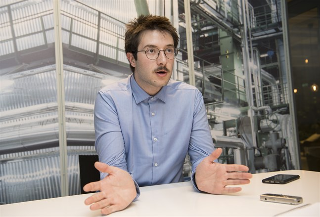Sam Heft-Luthy, produktchef på Google för integritetsfrågor. Bilden är från ett besök i Stockholm i oktober i fjol.