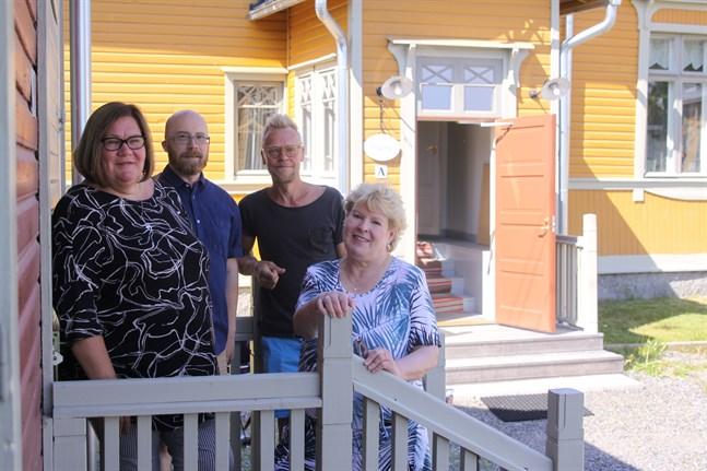 I huvudsak kommer filmfestivalen Nordic Makers' Film Festival att arrangeras vid Hemslöjdsgården och kulturhuset Dux. Susanne Bodman, Staffan Martikainen, Jim Björni och Helena Kari är förväntansfulla.