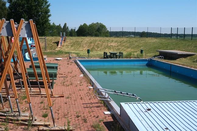 Friluftsbadet i Solf behöver rustas upp för att kunna användas.