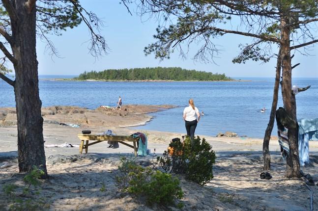 Konfirmandlägren ger en bra bild av hur ungdomarna mår. Bilden är från ett läger vid Pörkenäs.