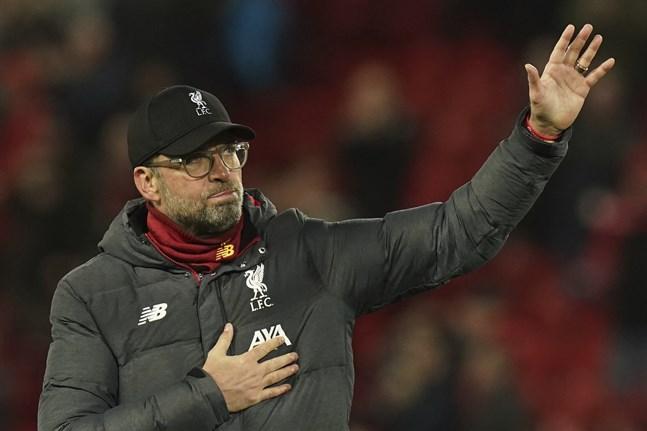 Jürgen Klopp var tårögd efter Liverpools ligaguld.