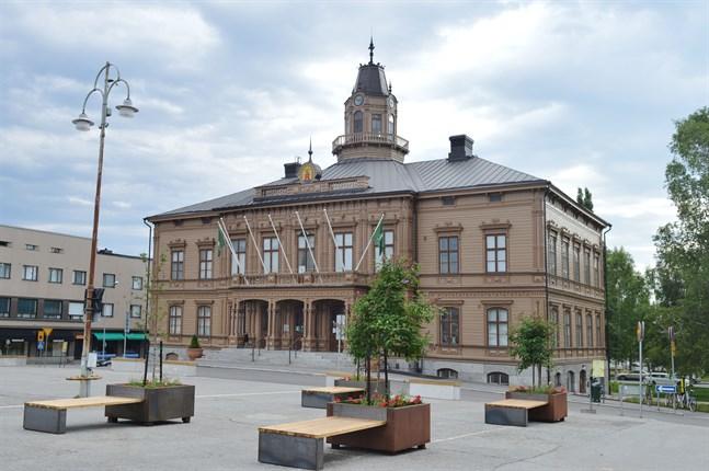 Rådhuset i Jakobstad.