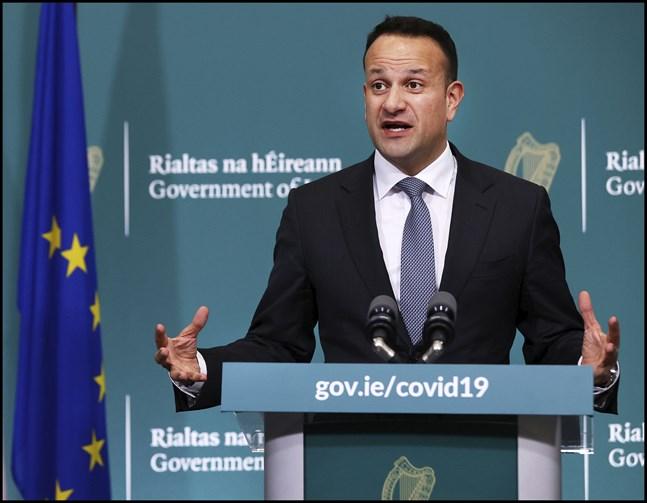 Irlands premiärminister Leo Varadka. Arkivbild.