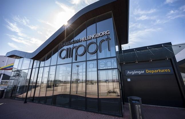En klimataktion försenade ett plan på väg till Arlanda från Ängelholm/Helsingborg Airport. Arkivbild.